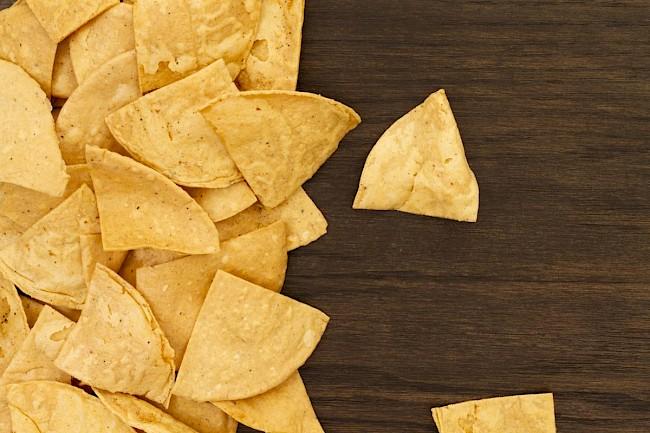 Nachos - nutrition, vitamins, minerals
