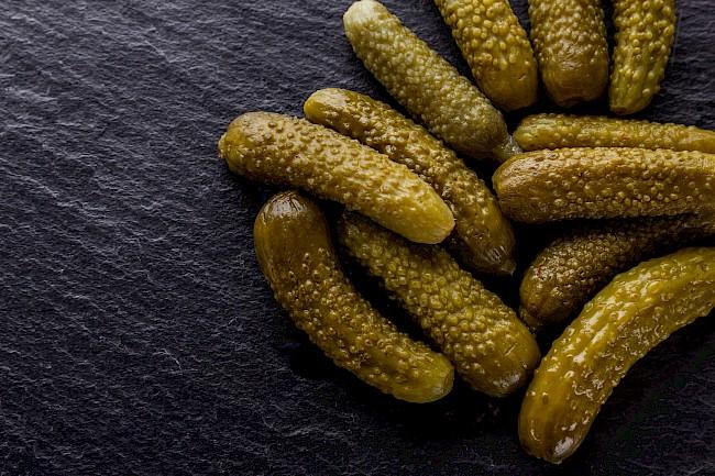 Pickled cucumber - nutrition, vitamins, minerals