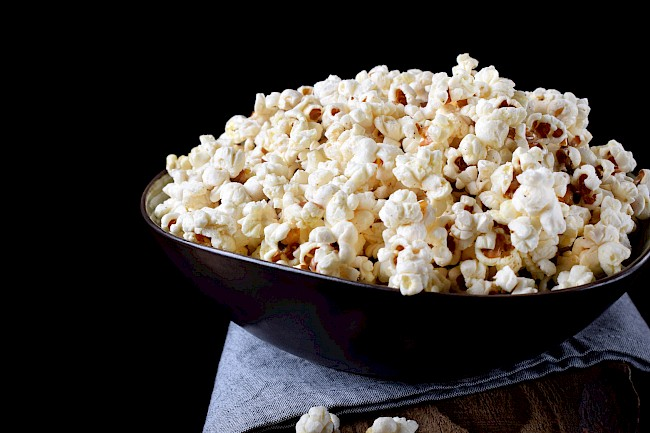 Popcorn - caloies, wieght