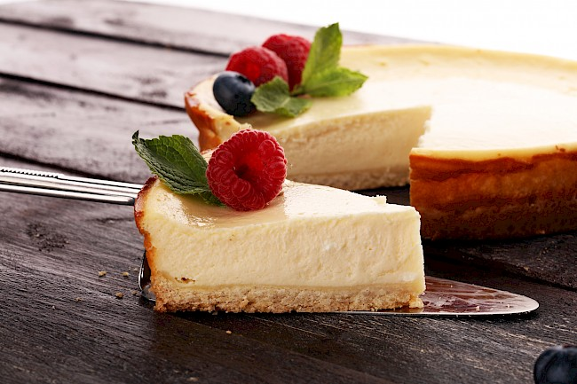 Cheese cake - nutrition, vitamins, minerals